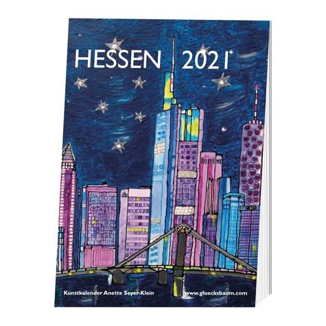 Kunstkalender Hessen 2021 - DIN A3 Wand