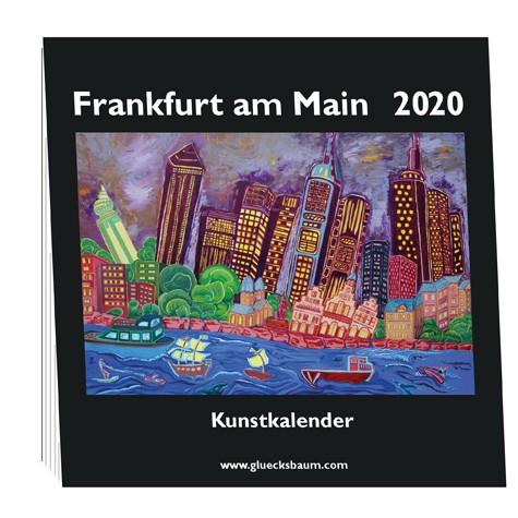 Kunstkalender Frankfurt am Main 2020 - Q15 Tisch