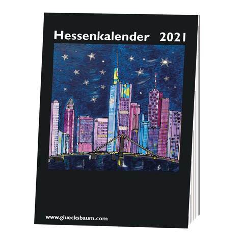 Kunstkalender Hessen 2021 - DIN A6 Tisch