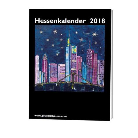 Kunstkalender Hessen 2022 - DIN A6 Tisch