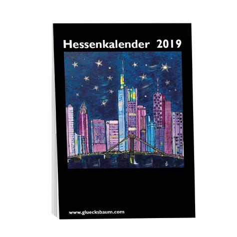 Kunstkalender Hessen 2019 - DIN A6 Tisch