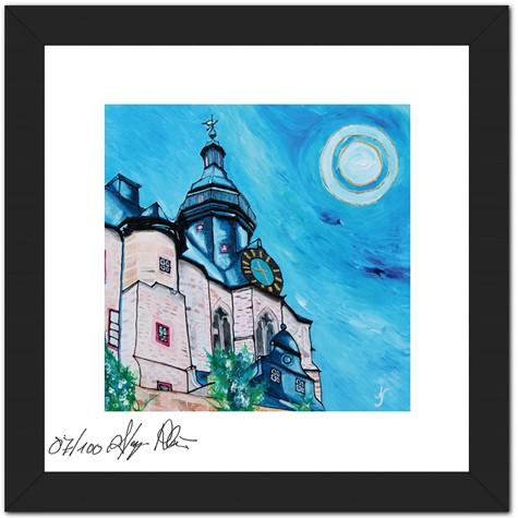 """Mini Sammler Kollektion Hessen - Anette Seyer-Klein - Motiv """"Marburg Schloss"""""""