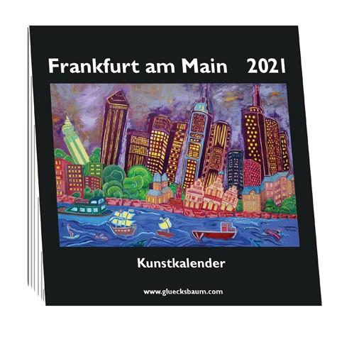 Kunstkalender Frankfurt am Main 2021 - Q15 Tisch