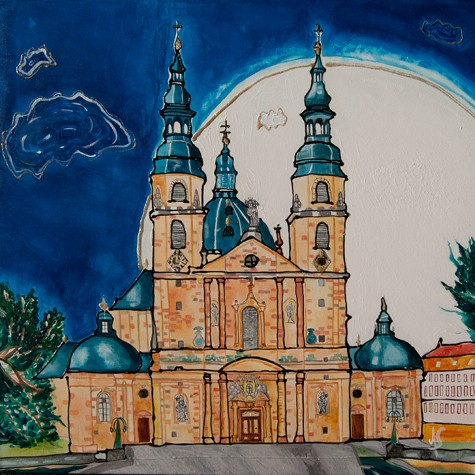 """Fulda Dom"" - Canvas Print Keilrahmen - Anette Seyer-Klein"