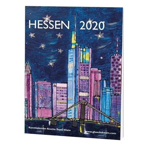 Kunstkalender Hessen 2020 - DIN A3 Wand
