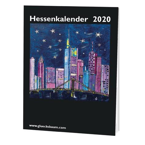Kunstkalender Hessen 2020 - DIN A6 Tisch